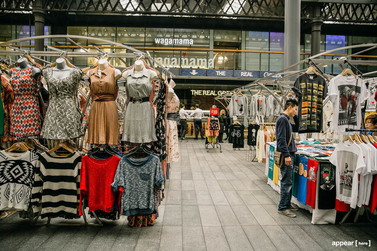 Spitalfields Market Stalls for Rent | Pop Up Shops ...